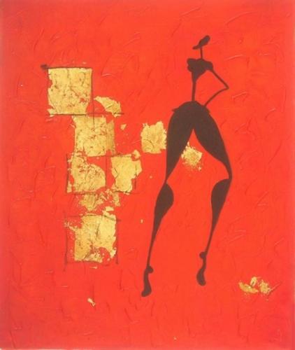 obraz Rudé zatmění