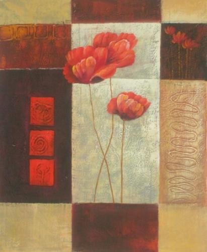 obraz Růže v tvarech