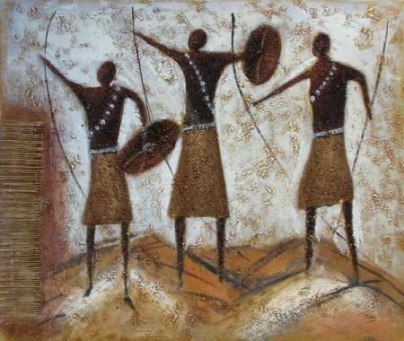 obraz Bojovníci