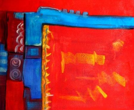 obraz Červené mámení