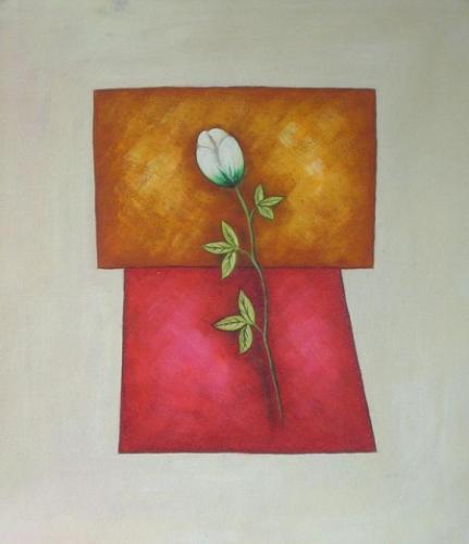 obraz Bíla růže