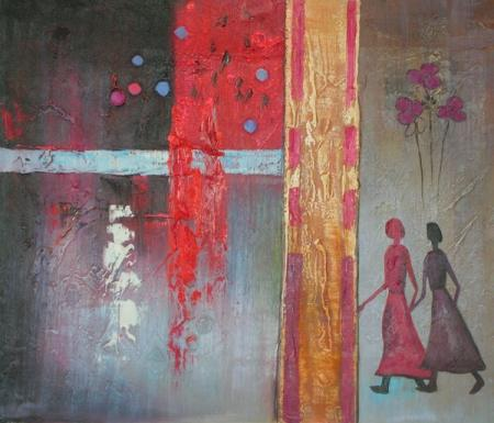 obraz Cesta za dveře