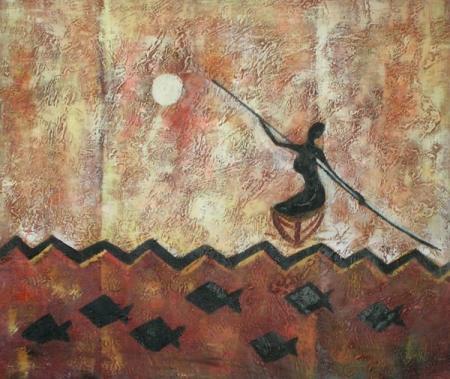 obraz Baletka v moři