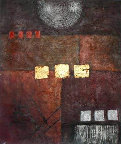 obraz Žluté obdelníky