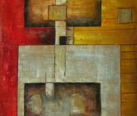 obraz Stůl s poličkou