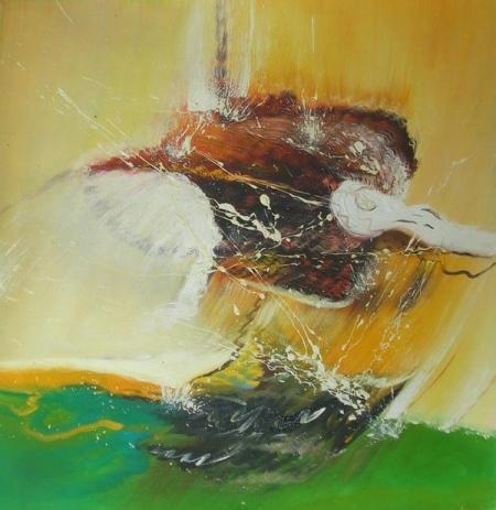 obraz Hnědý pták