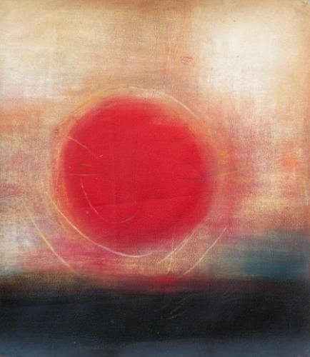 obraz Rudé slunce