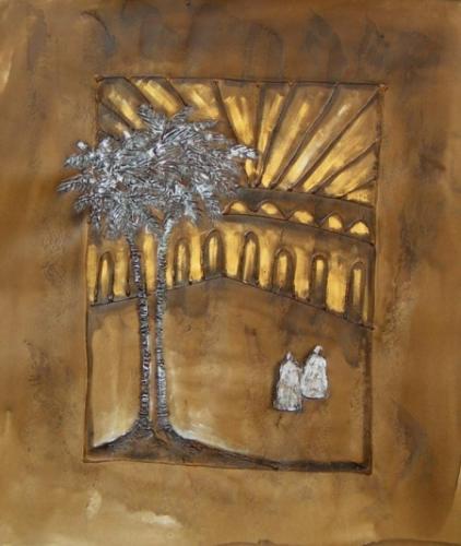 obraz Strom ozářen sluncem