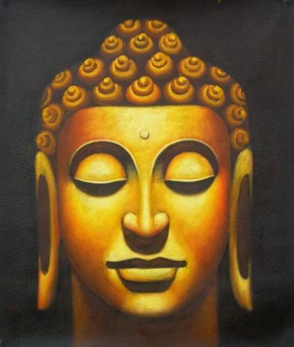 obraz Hlava Buddhy