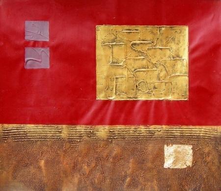 obraz Zlaté obdelníkové slunce