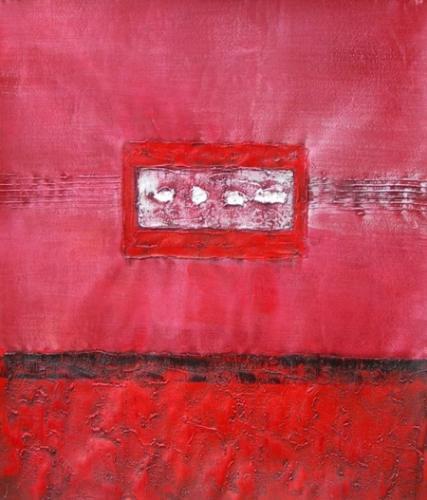 obraz Růžové okno