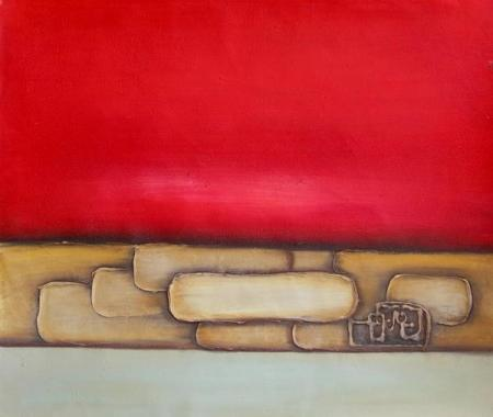 obraz Červená řeka