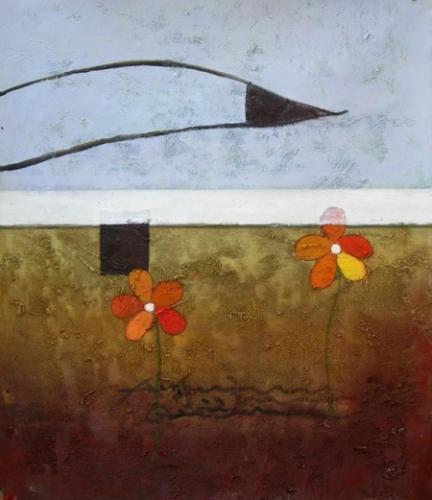 obraz Květy pod zemí