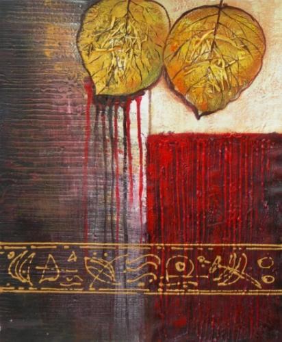 obraz Krvavé listy
