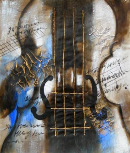 obraz Velké housle