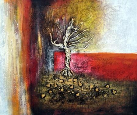 obraz Tančící strom