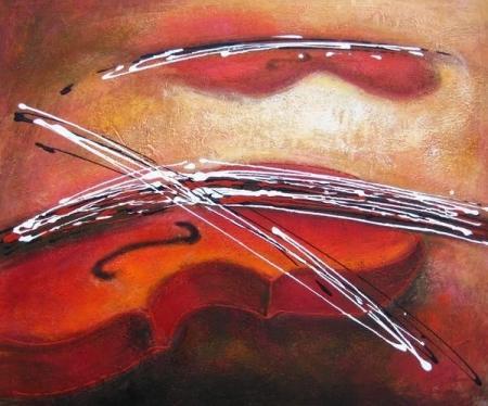 obraz Hra na housle