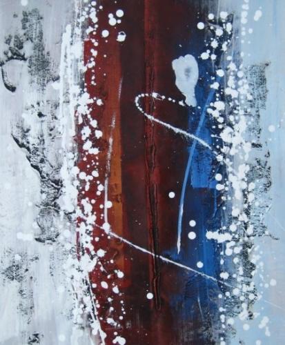 obraz Sněhová vánice