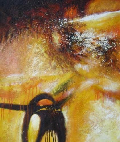 obraz Zlatá bouře