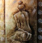 obraz Žena zezadu