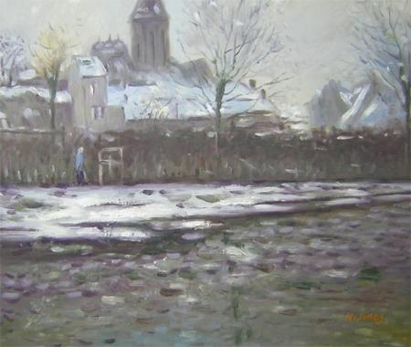 obraz První sníh
