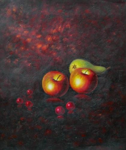 obraz Dvě jablka