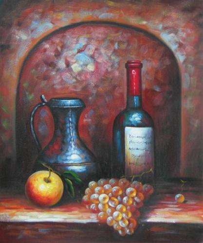 obraz Čekající víno