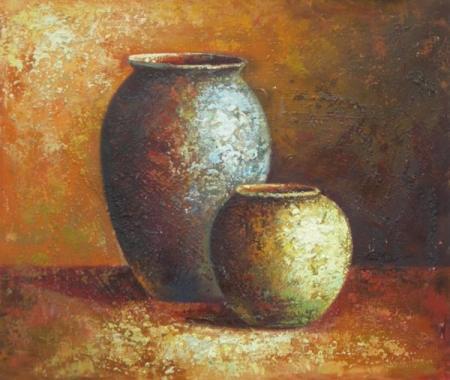 obraz Hliněné nádoby