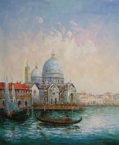obraz Krása Benátek