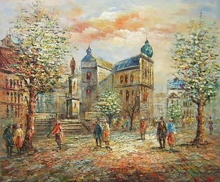 obraz Náměstí