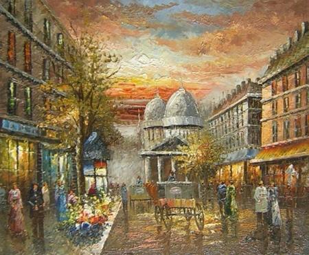 obraz Ulice v Paříži
