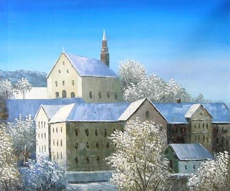 obraz Mrazíkova vesnice