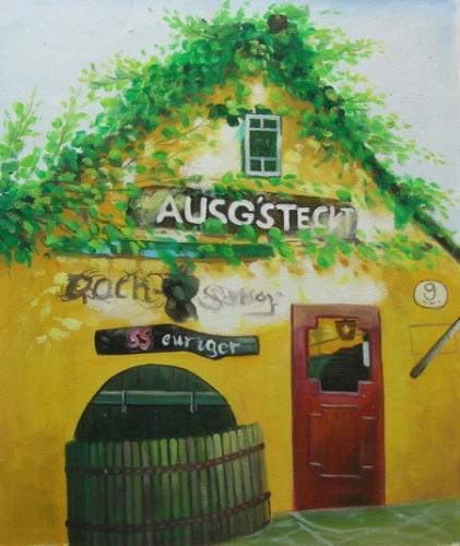 obraz Italská vinárna