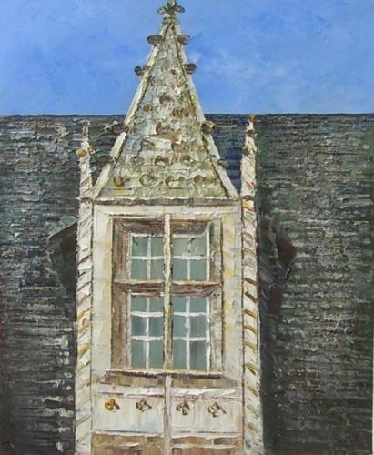 obraz Detail okna