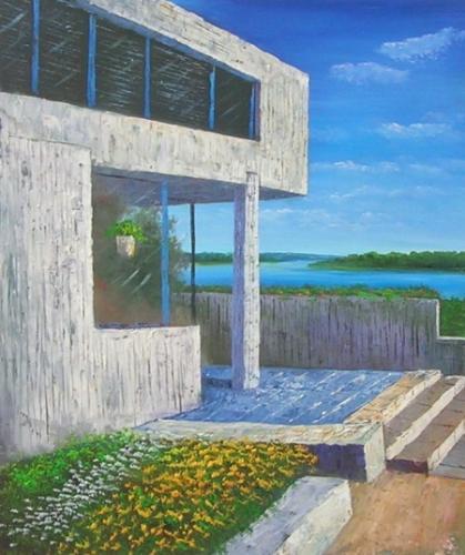obraz Plážový dům