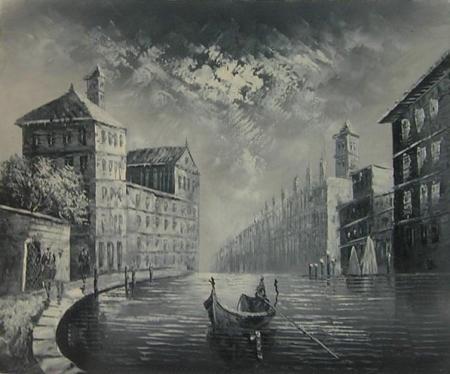 obraz Město duchů