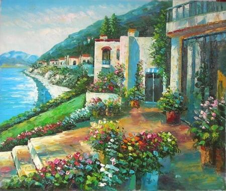 obraz Rozkvetlá mořská zahrada