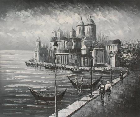 obraz Palác na pobřeží