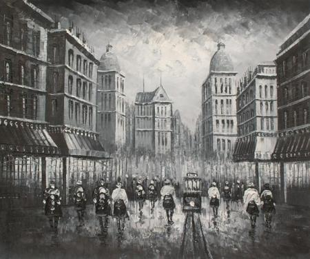 obraz Město