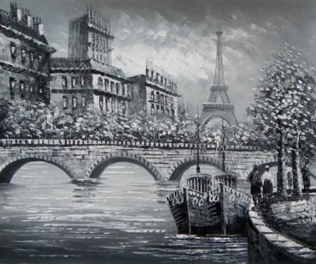 obraz Most před věží