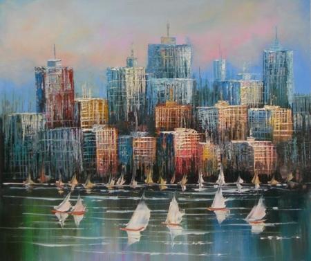 obraz Pohled na město
