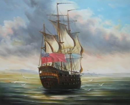 obraz Plachetnice na moři