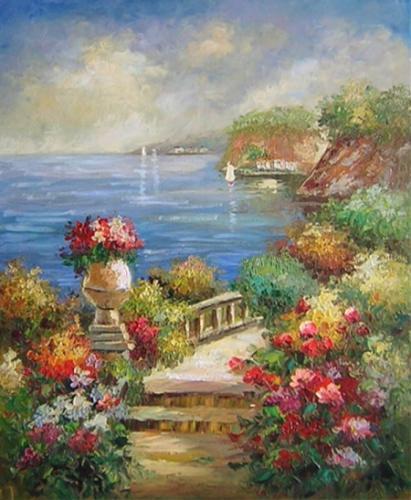 obraz Zahrada u moře