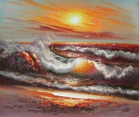 obraz Příliv moře