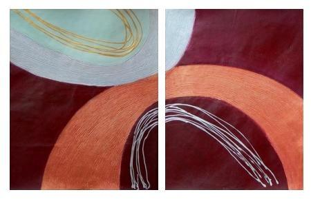 obraz Abstrakce dotek