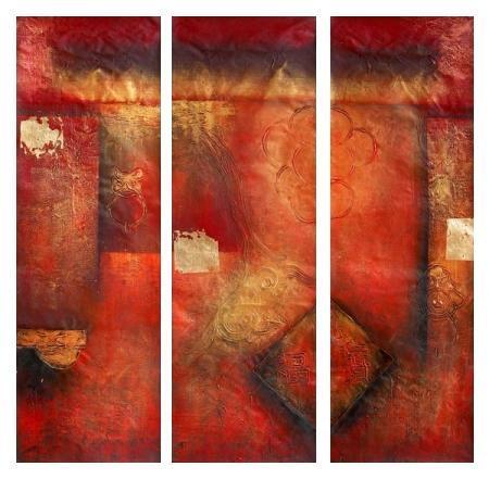 obraz Abstrakce červený sen