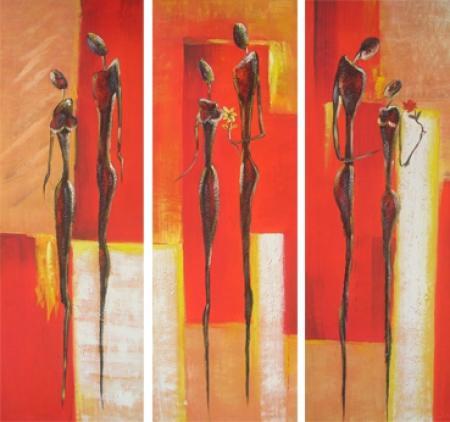 obraz Třikrát žena a muž