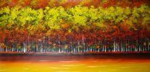 obraz Zlatý podzimní les