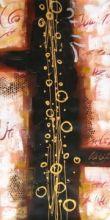 obraz Abstraktní noty