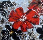 obraz Listový květ II